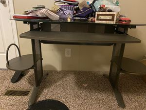 Glass desk for Sale in Kyle, TX