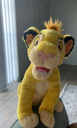 The Lion King Simba plushie for Sale in West Valley City, UT