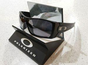Oakley Batwolf Sunglasses Matte Black / Gray Polarized 9101-04 127mm for Sale in Norwalk, CA