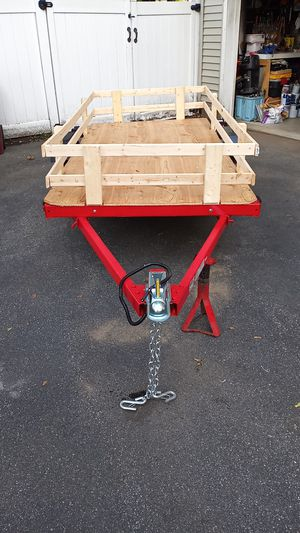 4'×8' Folding Utility Trailer. 2011 .1980 lbs for Sale in Lowell, MA