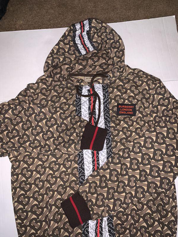 Burberry hoodies