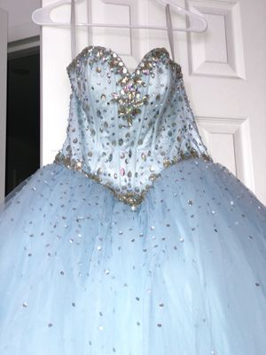 Light Blue Ball Gown (Quinceanera Dress) for Sale in New York, NY