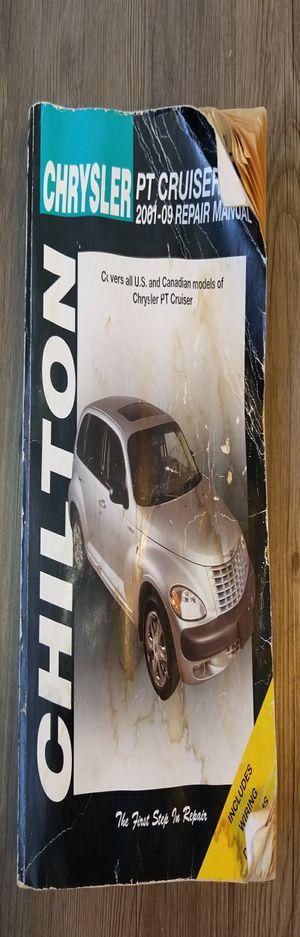 Chilton Manual Chrysler PT Cruiser : 2001 Thru 2009 (2010, Paperback) for Sale in Denver, CO