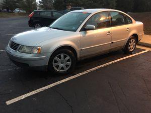 2001 Volkswagen Passat GLS, 112k Miles , New VA Inspection and Emissions for Sale in Manassas, VA