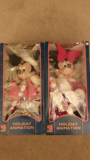 Vtg.Mickey&Minnie Mouse Christmas animated Santa Best for Sale in Southgate, MI