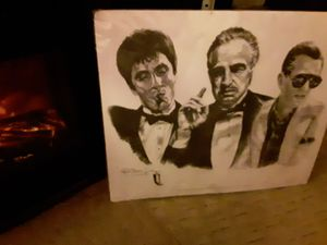 Portrait drawing from famed movie, *The Godfather* for Sale in Saint Albans, WV