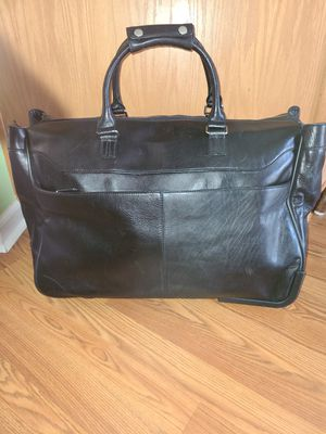 Genuine leather rolling travel duffle bag for Sale in Columbia, SC