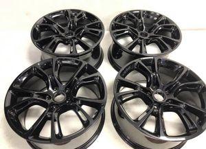 20x10 Jeep Grand Cherokee wheels 5x127 gloss black for Sale in Warren, MI