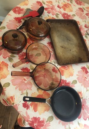 Corning cook ware and some other items for Sale in Chino Hills, CA