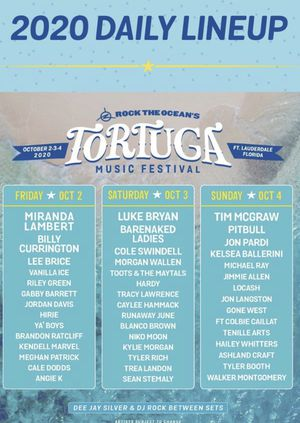 Two Tortuga Music Festival Tickets for 2020 for Sale in Hialeah, FL
