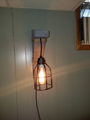 Rustic wall sconces for Sale in Atchison, KS