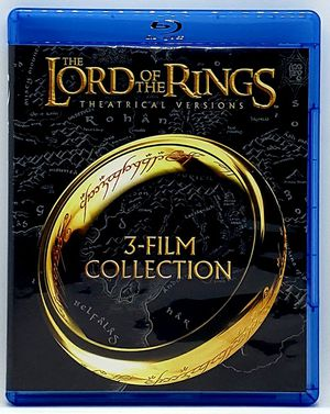 The Lord of the Rings 3-Film Collection Blu ray Disc Set - NEVER Viewed MINT for Sale in Harrisonburg, VA