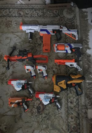 Nerf gun lot for Sale in Sioux Falls, SD