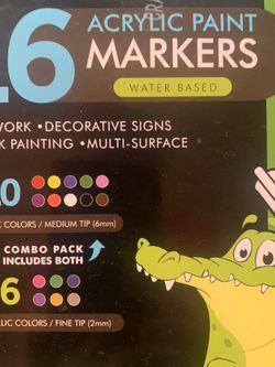 Acrylic paint markers set for Sale in Dittmer,  MO