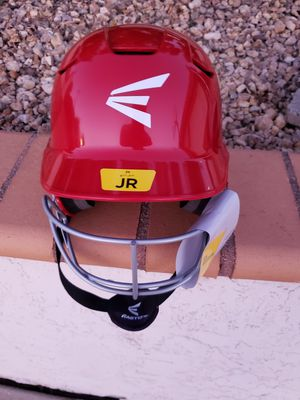 Brand New Red Easton Z5 Batting Helmet with Facemask $25 for Sale in San Diego, CA