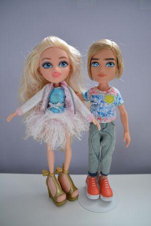 Lot 2 Bratz Doll Metallic Madness Cloe & Hello my Name is Cameron for Sale in Chicago, IL