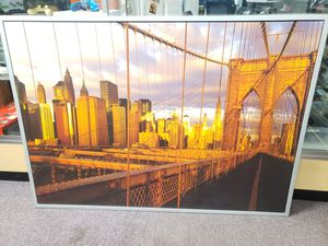 "Huge brooklyn bridge picture frame 55""x 39 1/2"" for Sale in Auburn, WA"