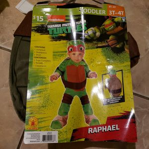 Ninja turtle kids Costume size 3T-4T for Sale in Naples, FL