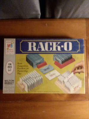 Milton Bradley 1966 RACK-O for Sale in Louin, MS