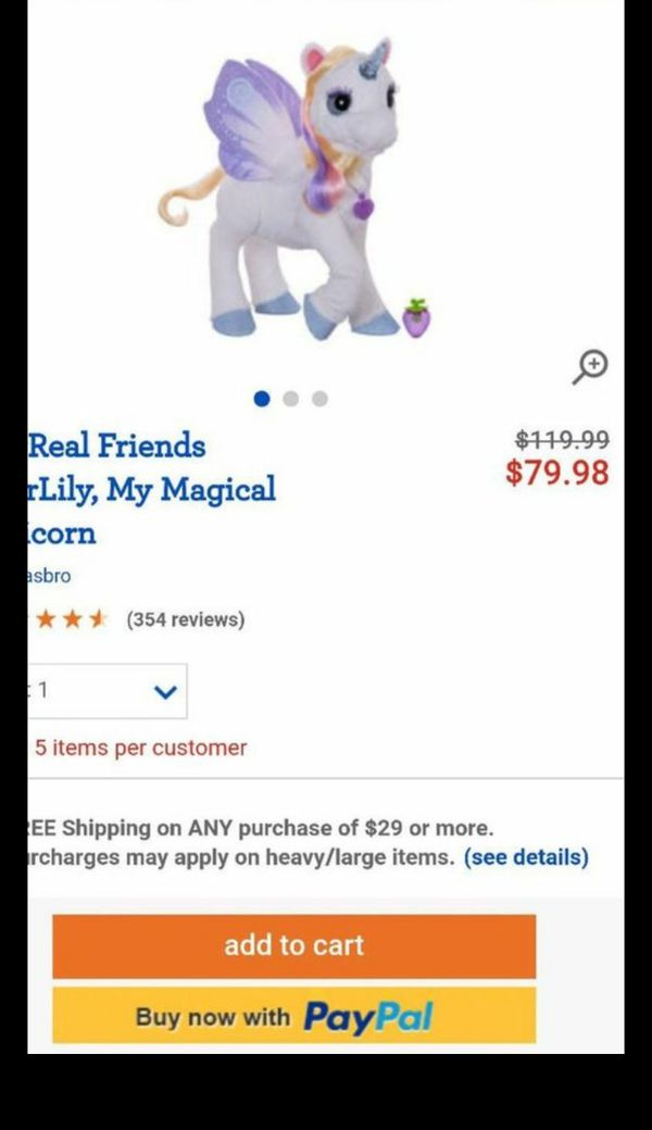 FurReal Friends StarLily