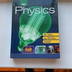 Physics Holt Text Book Highschool for Sale in Brick Township, NJ
