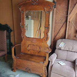 Antique chair/mirror for Sale in Santa Ana, CA