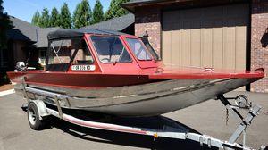 22ft Weldcraft 460hp aluminum jet boat for Sale in Battle Ground, WA