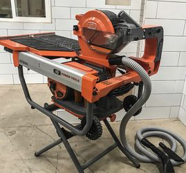 iQTS244 Dry-Cut Dustless Tile Saw w/Stand for Sale in Denver,  CO