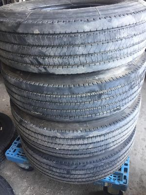 ST235/85/16 14PLY USED TRAILER TIRES for Sale in Arlington, TX
