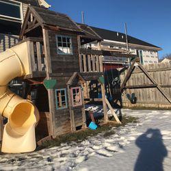 Cedar Summit Premium Wooden Play System for Sale in Pleasant Hill,  IA