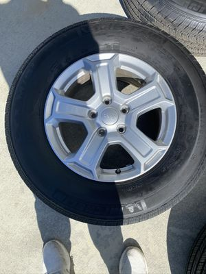 2019 Jeep Wrangler Sport Wheels and tires for Sale in Hudson, OH
