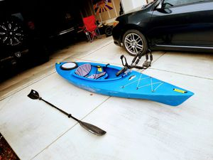 Kayak, Fishing Reel Mount, Ore, and roof rack kayak carrier. for Sale in Fresno, CA