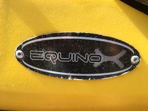 10.4 feet Equinox kayak + paddles + life jacket for Sale in Virginia Beach, VA