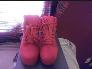 Red Timberlands, SPECIAL EDITION for Sale in Phoenix, AZ