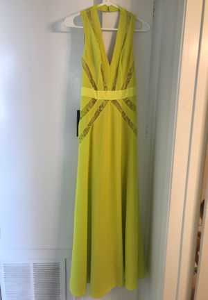 gorgeous BEBE yellow dress for Sale in Los Angeles, CA