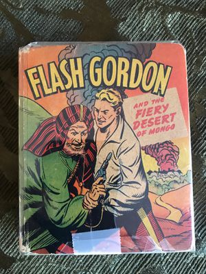 Flash Gordon and fiery desert of mango better little book circa 1940s vintage children's book number 1447 for Sale in West Palm Beach, FL