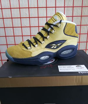 REEBOK QUESTION ALLEN IVERSON SIZE 8.5 9 9.5 US MEN SHOES NEW WITH BOX $140 for Sale in Cleveland, OH