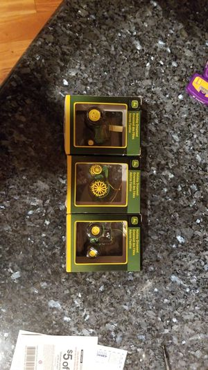 Three John Deere tractor ornaments New for Sale in San Jose, CA