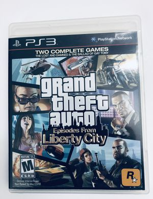 PS3 Video Game Grand Theft Auto Liberty Cities Tested for Sale in Fuquay-Varina, NC