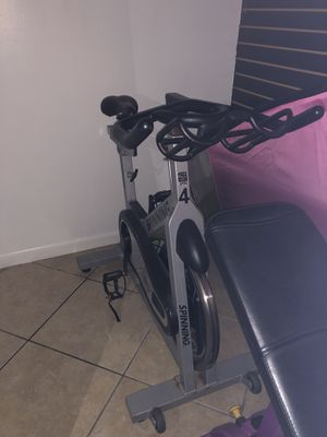 Spinning exercise bike- used- works in perfect condition for Sale in Miami, FL
