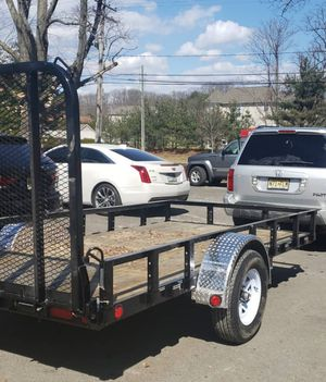6 × 12 Utility trailer .... brandnew for Sale in Laurence Harbor, NJ