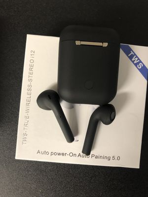i12 wireless bluetooth headphones for Sale in San Diego, CA