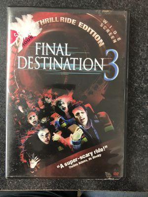Final Destination 3 DVD - used for Sale in Lisbon, CT