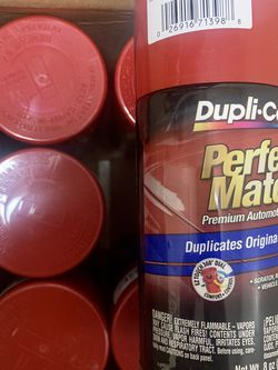 Dupli-color: Color Match, Victory Red Spray Paint for Sale in Miami,  FL