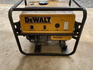 DeWalt DG2900 generator, good working order for Sale in Evesham Township, NJ