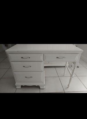 White Desk for Sale in Newport Beach, CA
