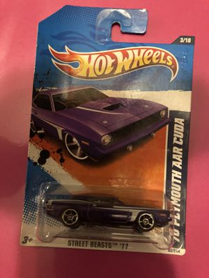 Used, Hot Wheels '70 Plymouth AAR Cuda for Sale for sale  Raeford, NC