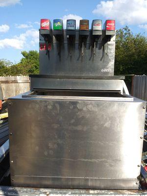 Lancers model # 2306. 6 valve dispenser with compressor. for Sale in Arlington, TX
