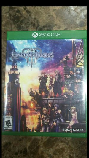Kingdom heart 3 video game for Sale in Fontana, CA