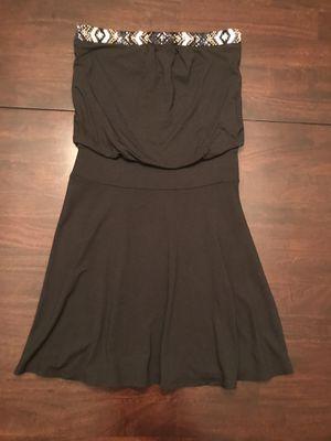 Black Beaded Strapless Dress for Sale in Aurora, CO